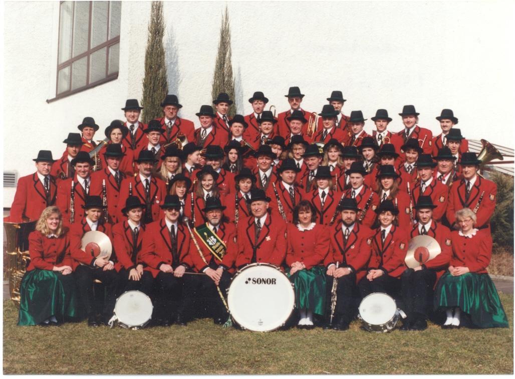 1995 Gruppenfoto MV SanktGotthard